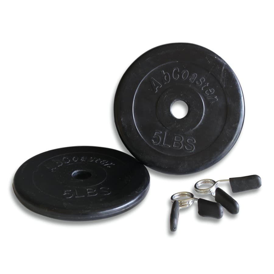 Weight Plates in Standard size- 5LBS (w/ Weight Clips)