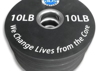 Weight Plates in Olympic size - 10LBS