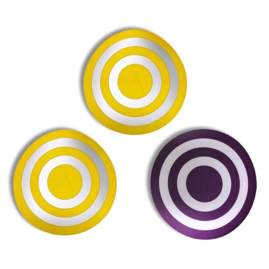 TargetAbs™ Target Stickers for Planet (set of 3)