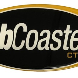 AbCoaster CTL Oval Front Panel Decal ABA902010
