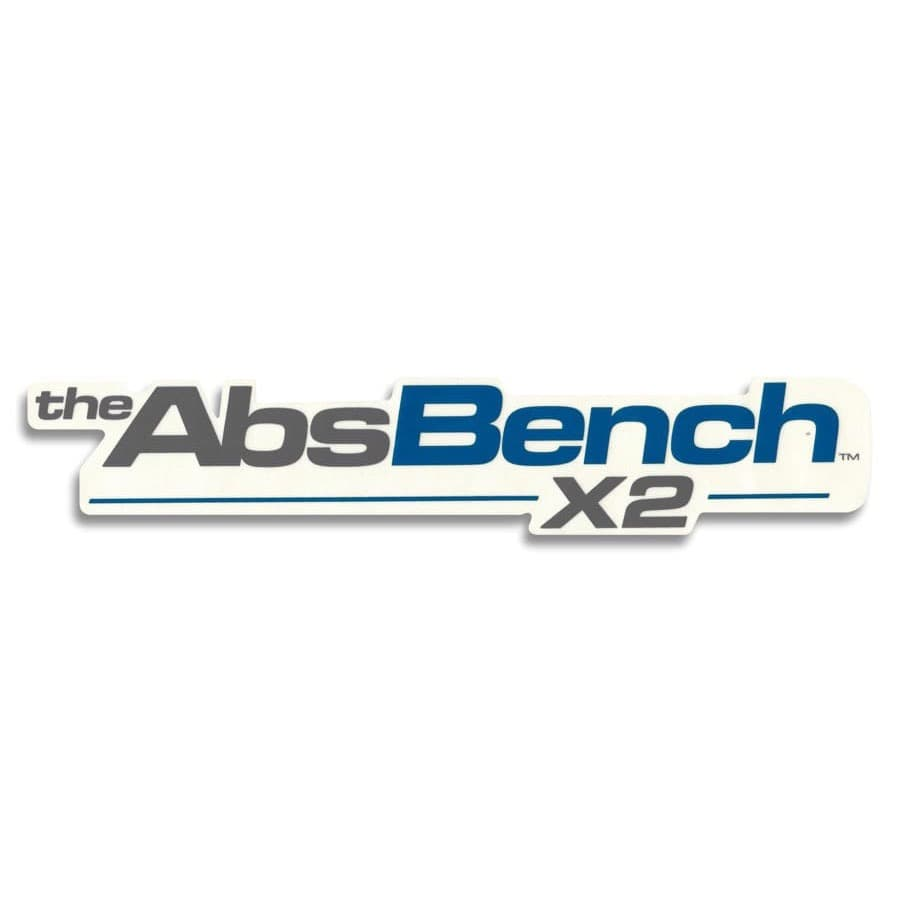 Instruction Decal for AbsBench™ X2