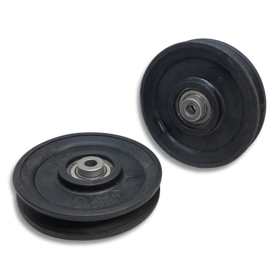 Glute Coaster™ Pulley - Internal top & bottom pulleys