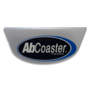 Plastic Nameplate w/ Decal - PS500