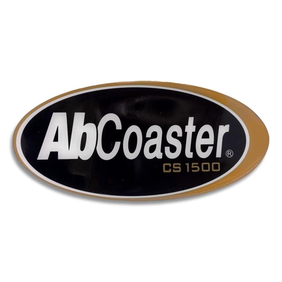 Oval Front Panel Bubble Sticker for CS1500