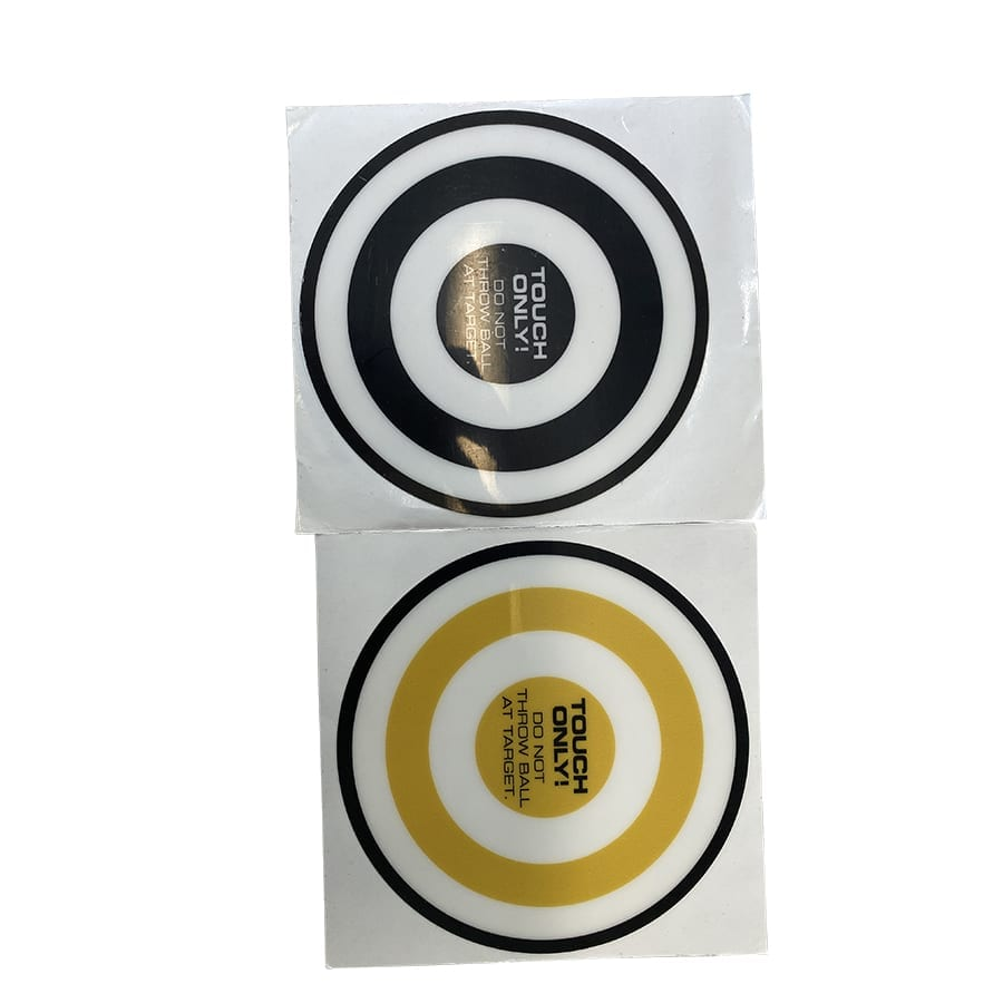 AbSolo Side Target Stickers – Yellow & Black