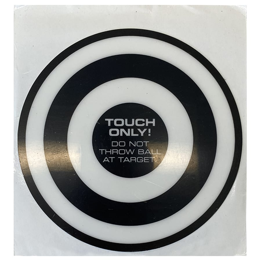 AbSolo Side Target Stickers – Black