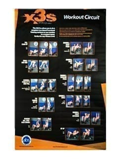 X3S Pro Exercise Poster