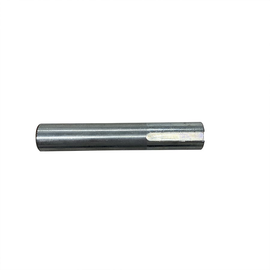 SledMill pulley drive shaft